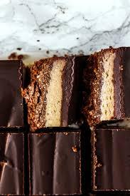 chocolate coconut caramel bars gluten free paleo vegan baked