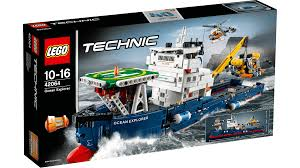 lego technic logo technic 42064 ocean explorer review the lego car blog