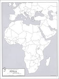 africa map answers josh s outline map book 003136 details rainbow resource