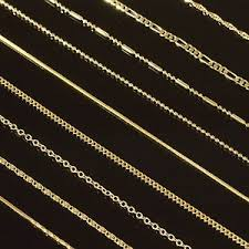 chain necklace styles images Gold filled 18 quot 22 quot 26 quot mens chain womens necklace 14 styles to jpg