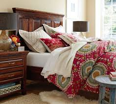 bedroom sheet sets distressed wood furniture cheap bowry reclaimed wood bed dresser set pottery barn