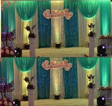 wedding backdrop curtains for sale 3m 6m and white with sequin swags hot sale white wedding