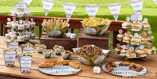 baseball centerpieces mlb rawlings baseball party supplies decorations party city