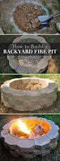 Pictures Of Backyard Fire Pits How To Build A Back Yard Diy Fire Pit It U0027s Easy The Garden Glove