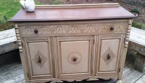 Antique Painted Sideboard Duncan Phyfe Painted Buffet