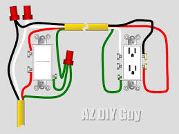 wiring a split switched receptacle u2014 az diy guy