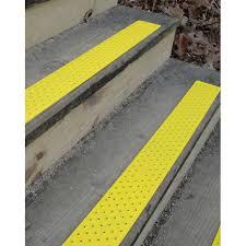 safety yellow non slip stair tread floormatshop com commercial