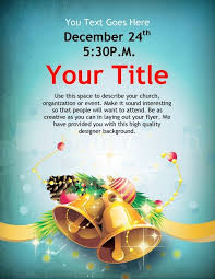 christmas bells flyer template template flyer templates with