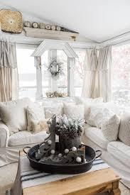 diy drop cloth curtains in the sunroom liz marie blog