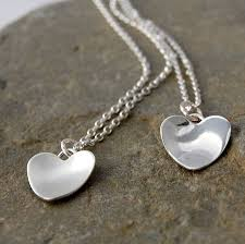 handmade silver necklace images Silver handmade heart necklace by alison moore designs jpg