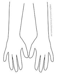 mehndi print out hand shape google search mehendi pinterest