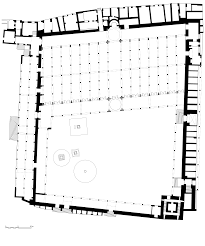 mosque floor plan file zitouna mosque plan svg wikimedia commons