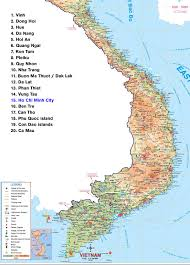 Northern Asia Map by Map Of The Northern And Southern Vietnam Northern Vietnam