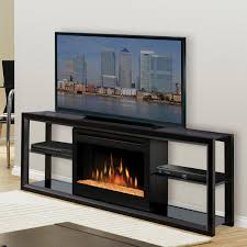 contemporary electric fireplace media center fireplace