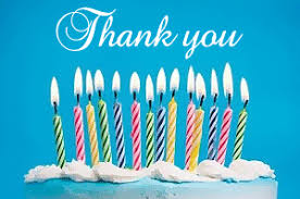 birthday thank you sayings birthday thank you messages