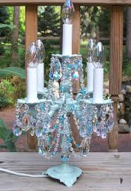 Chandelier Table Lamp Crystal Candelabra Chandelier Table Lamp If It Was Purple Or