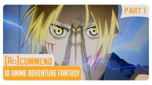 film anime petualangan terbaik rekomendasi 10 anime adventure fantasy terbaik part 1 youtube