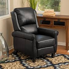 Black Leather Recliner Great Deal Furniture 296597 Lloyd Black Leather