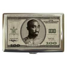 tupac shakur one hundred dollar bill cigarette