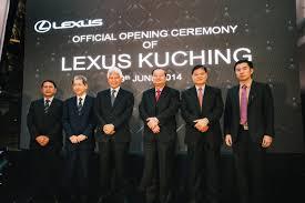 lexus van malaysia lexus malaysia opens first 3s centre in kuching wemotor com
