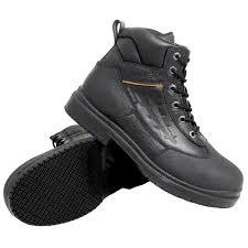 womens steel toe boots size 11 grip 7800 s size 11 wide width black injection waterproof