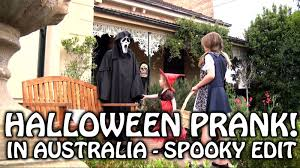 funny halloween pranks halloween scream prank in australia spooky edit youtube