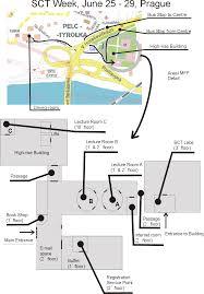 Prague Metro Map by Sct Week Prague