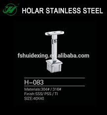Handrail Fittings Suppliers Square Handrail Bracket Square Handrail Bracket Suppliers And