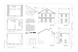 Floor Plan Elevations by File Floor Plans Elevations Details Cook Simms House 101