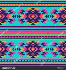 Tribal Print Wallpaper by Neon Color Tribal Navajo Seamless Pattern Stock Vector 340201799