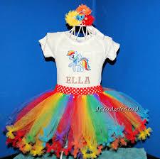 Pony Rainbow Dash Halloween Costume Pony Tutu Rainbow Dash Tutu Rainbow Dash Sewsnbows