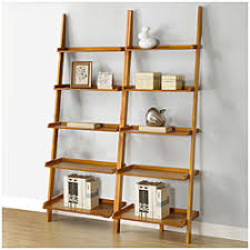 Slanted Bookcases Leaning Book Shelves Leaning Wall 5 Shelf Bookcase Black