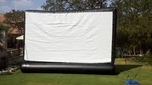 16 u0027 wide backyard movie screen