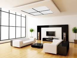 modern white living room with window roofing with muntins also