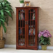 Cd And Dvd Storage Cabinet With Doors Oak Finish Cd U0026 Dvd Media Storage You U0027ll Love Wayfair