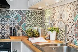 moroccan tile kitchen backsplash create a decorative kitchen backsplash with cement tiles