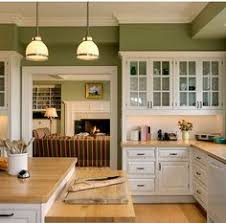 how to update a forest green kitchen with green granite countertop