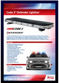 code 3 pursuit light bar code 3 britax hazard ecco led light bar emergency lights