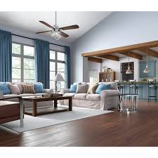 Grey Walls Wood Floor by Living Room Hunter Ceiling Fans With Brown Wooden Floor And White