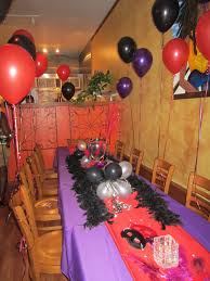 Birthday Table Decorations by Party With A K The Blog How To Decorate A Birthday Dinner Red