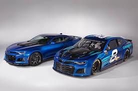 chevy announces camaro zl1 as new nascar race car leftlanenews
