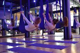 100 aerial yoga manual 2 amazon com deluxe aerial yoga