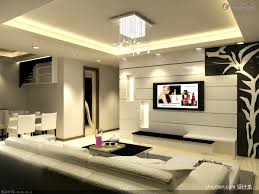 modern living room tv background wall decoration design effect