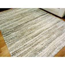 Thick Pile Rug Soft Thick Modern Design Floor Area Rugs Sight Beige Grey Cream