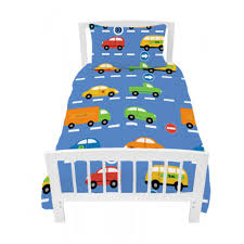 Duvet Cover Cot Bed Size Single Bed Size Duvet Cover Set Traffic Express Boys Cars