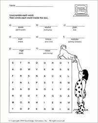 printable 3rd grade worksheets worksheets
