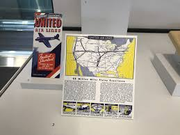United International Route Map by Cool New United Airlines Museum Exhibit At Sfo Live And Let U0027s Fly