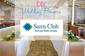 wedding flowers diy diying your wedding flowers save with sam s club