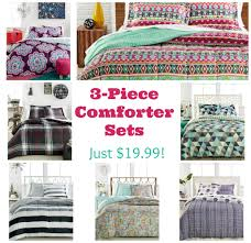 Macy Bedding Sets 3 Piece Comforter Sets Just 19 99 At Macy U0027s