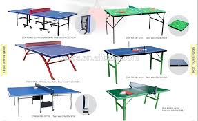 collapsible table tennis table simple folding table tennis table adults indoor type pingpong table
